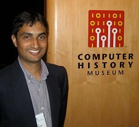 Rajen Sheth of Google Apps.