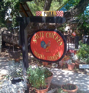 No room at the old Salty Chicken.